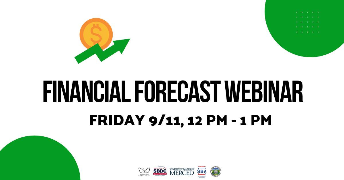 financial forecast header image