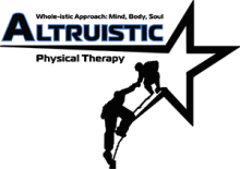 Altrusitic Logo - Black & White