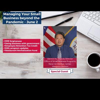 Managing Your Small Business Beyond the Pandemic - 6/2/2021
